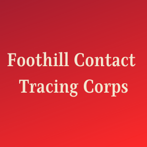 Foothill College Contact Tracing Corps
