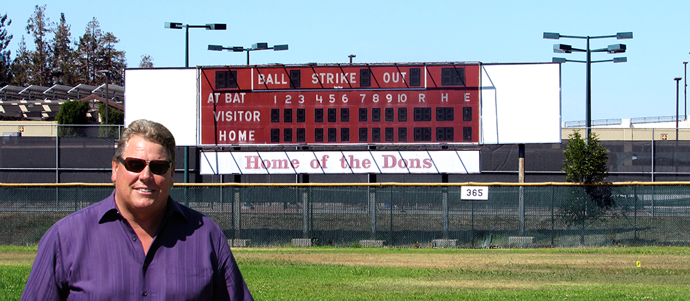 Sandy Wihtol's love of baseball and commitment to his community bring him back to De Anza college