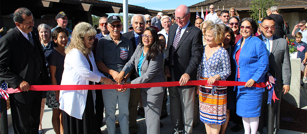 On July 25, 2018 the Los Altos Rotary Veterans Plaza was dedicated in honor of U.S. Marine Corps Captain Matthew P. Manoukian who died in the line of duty on August 10, 2012.