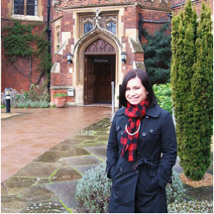 Dani at Cambridge